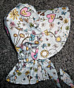 Girls sunbonnets with flowers, hearts and birds-Rawhide Gifts and Gallery