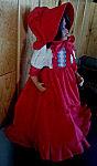 18 inch American Doll Dress, sunmaid raisin dress costume