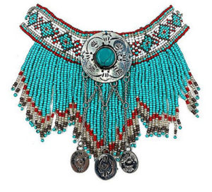 vintage-look-native-american-indian-beaded-turquoise-necklace