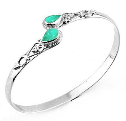 Silver-Overlay-Handmade-Fashion-Cuff-Bracelet