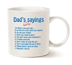 funny father s day coffee mugs sayings great coffee mugs for dad