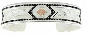 Montana Silversmiths Widerness Tapestry-Cuff-Bracelet