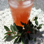 Watermelon Kombucha summery drink