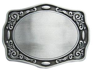 Decorative Belt Buckle Blank for men or women