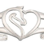 Montana Silversmith Equestrian Heart Ladies Silver Bracelet