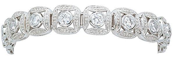 Montana Silversmith Jewelry Bracelet w/rhinestones