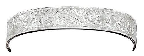 Montana Silversmith Jewelry Ladies silvertone scrollwork bracelet