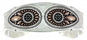 Montana Silversmith Jewelry Bracelet Ladies Silvertone with jewel inset