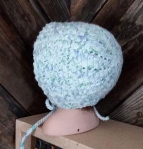 Baby Boy's Crochet Brim Cap