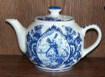 Windmill Tea Pot Delft