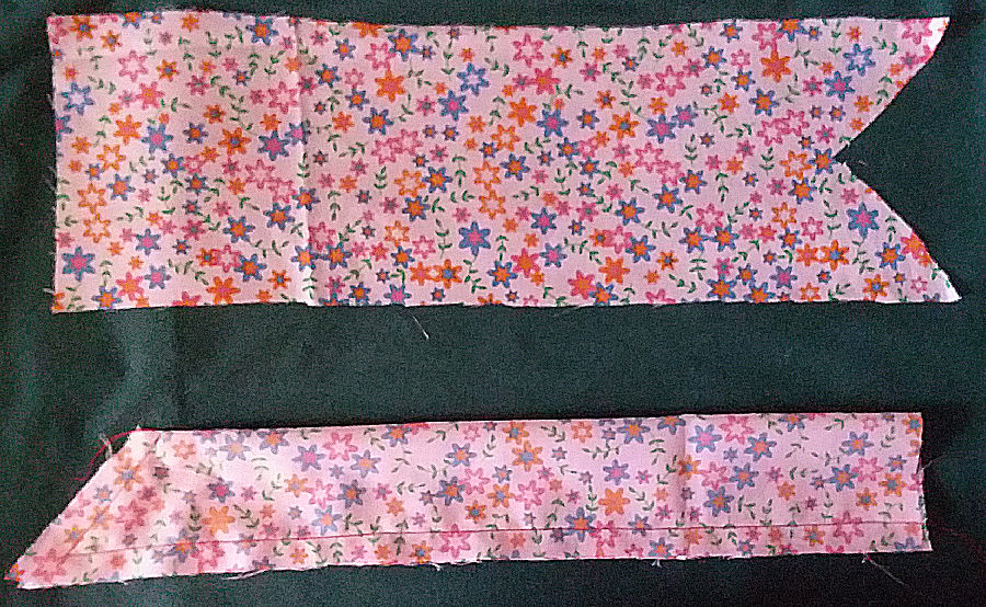 Cutting Baby Snap Bonnet Ties