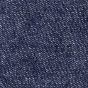 Indigo blue denim fabric