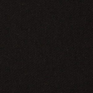 solid black denim material