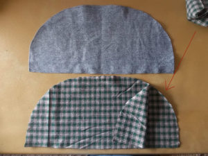 Cutting brim and insert