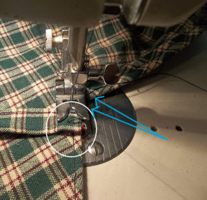adding ties to the pioneer bonnet